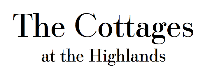 The Cottages at the Highlands Font
