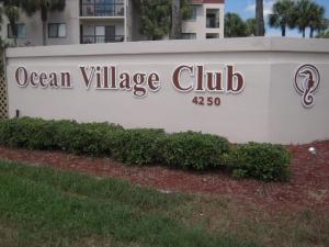 Ocean Village Club Entrance