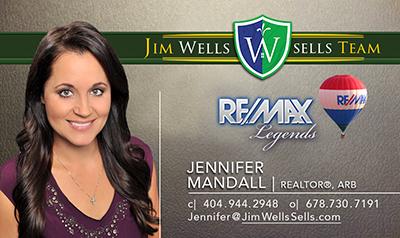 Jennifer Mandall-Business Card 2017