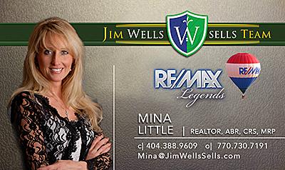 JWST Business Card - Mina Little