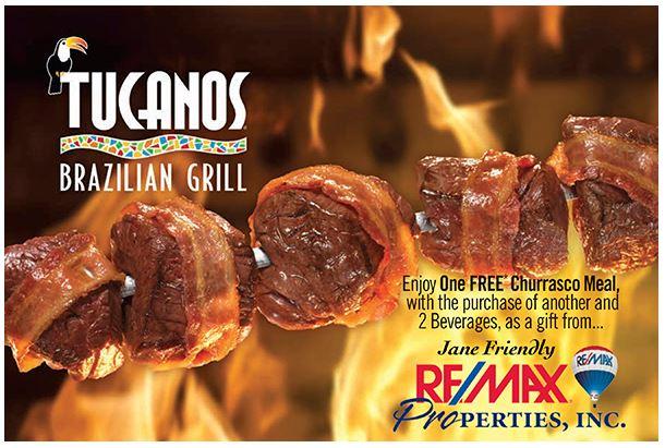 May 2017 Colorado Springs Discount - Tucanos Brazilian Grill