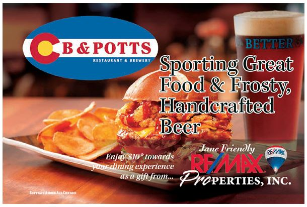 September 2017 Colorado Springs Discount - C.B & Potts