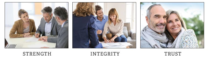 strength integrity trust client values