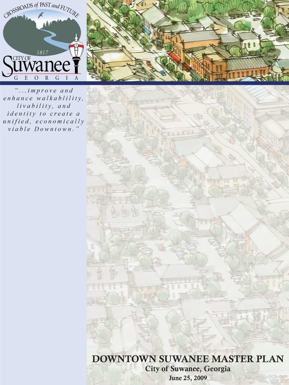 City of Suwanee - Downtown Master Plan