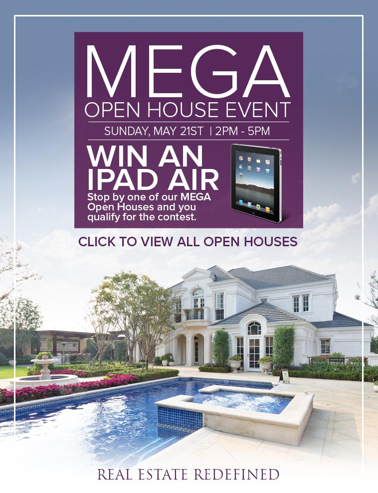 MEGA Open House Event - Sunday, April 9, 2017