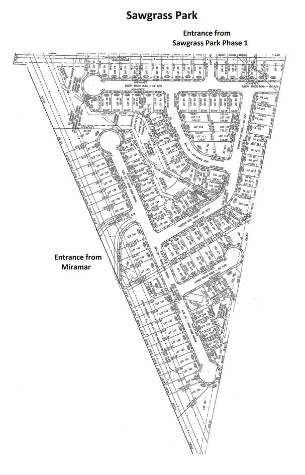 Sawgrass Park Phase 3 Plat
