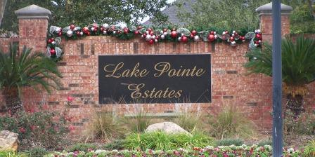 Lake Pointe sign