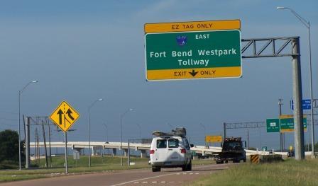 westpark tollway freeway