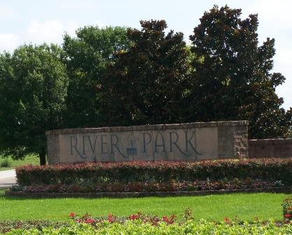 River Park sign