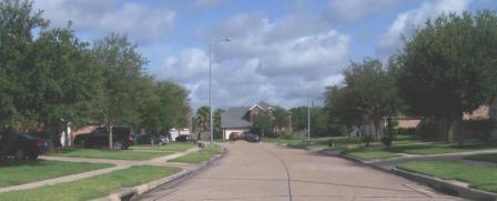 street in River park