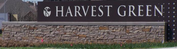 Harvest Green sign 2