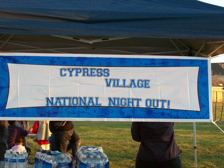 Cypress Village National Night Out!