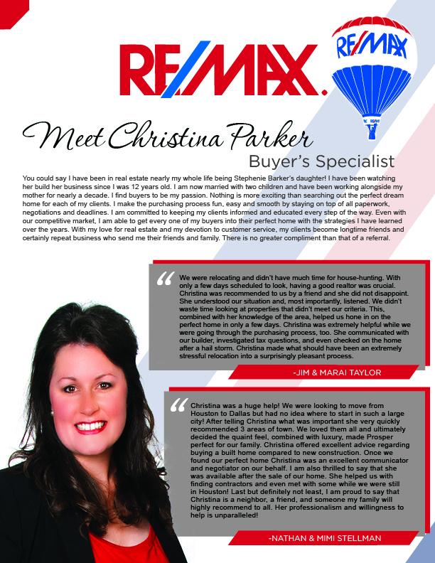 Meet Christina Parker