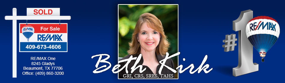 beaumont tx area real estate beth kirk realtor remax