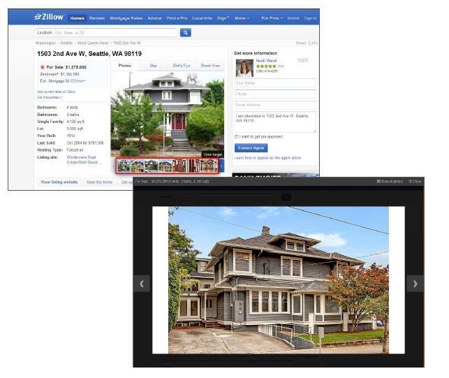 As a zillow premier listing agent my sellers benefit from for Zillow site