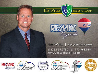 Jim Wells Sells Business Card - Luxury Specialist