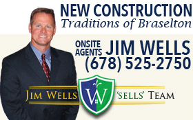Jim Wells Sells Traditions of Braselton NEW CONSTRUCTION