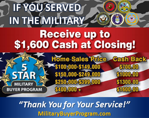Five Star Military Buyer Program