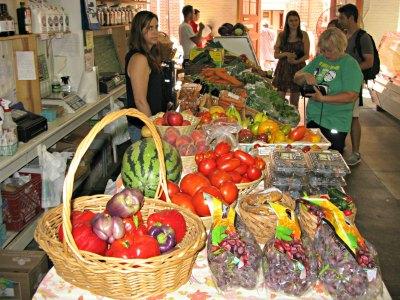 Central Market Scene