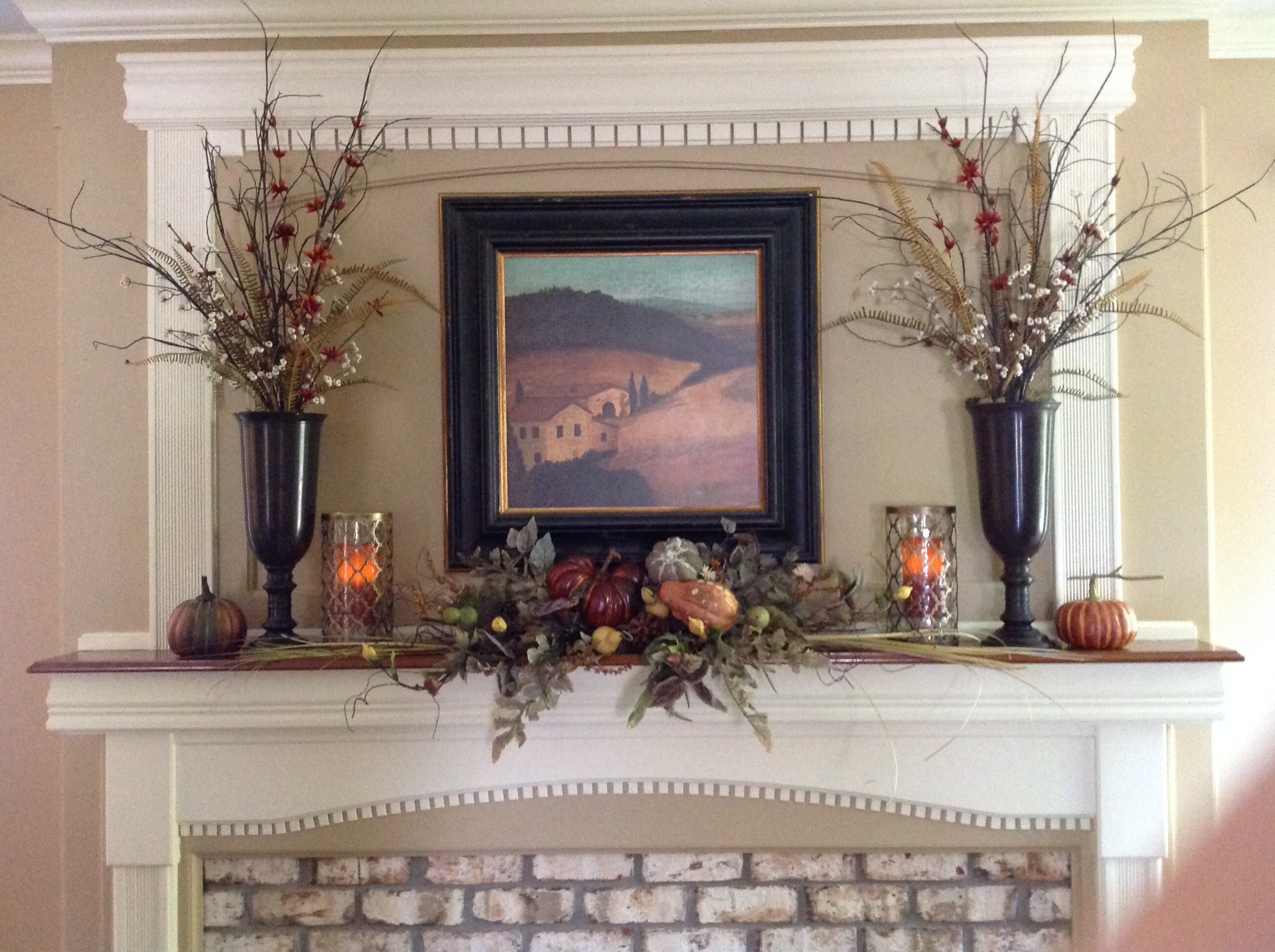 Living Room Decorating Like Pottery Barn decorating for fall in urbandale ive had the tall urns from pottery barn years and have invested both a springsummer fallwinter arrangement plus christmas one that i trade