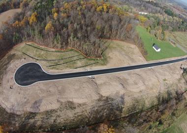 Antonelli Construction Subdivision Aerial View