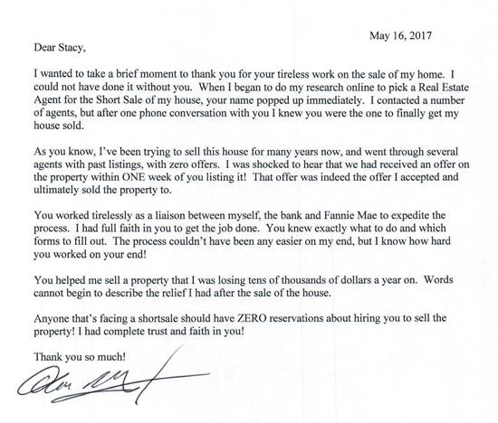 Mordhorst Letter of Thanks - 5.16.2017