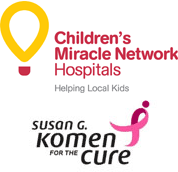 Children's Miracle Network and Komen for the Cure