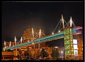 Sky Bridge at night