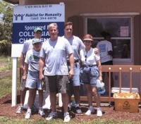 Hudson Realty Volunteering with Habitat for Humanity
