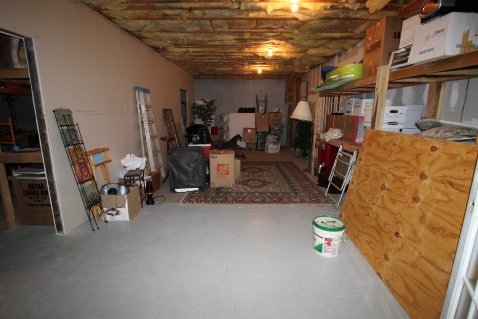 Full Partially Finished Basement, Stubbed For 4th Full Bathroom