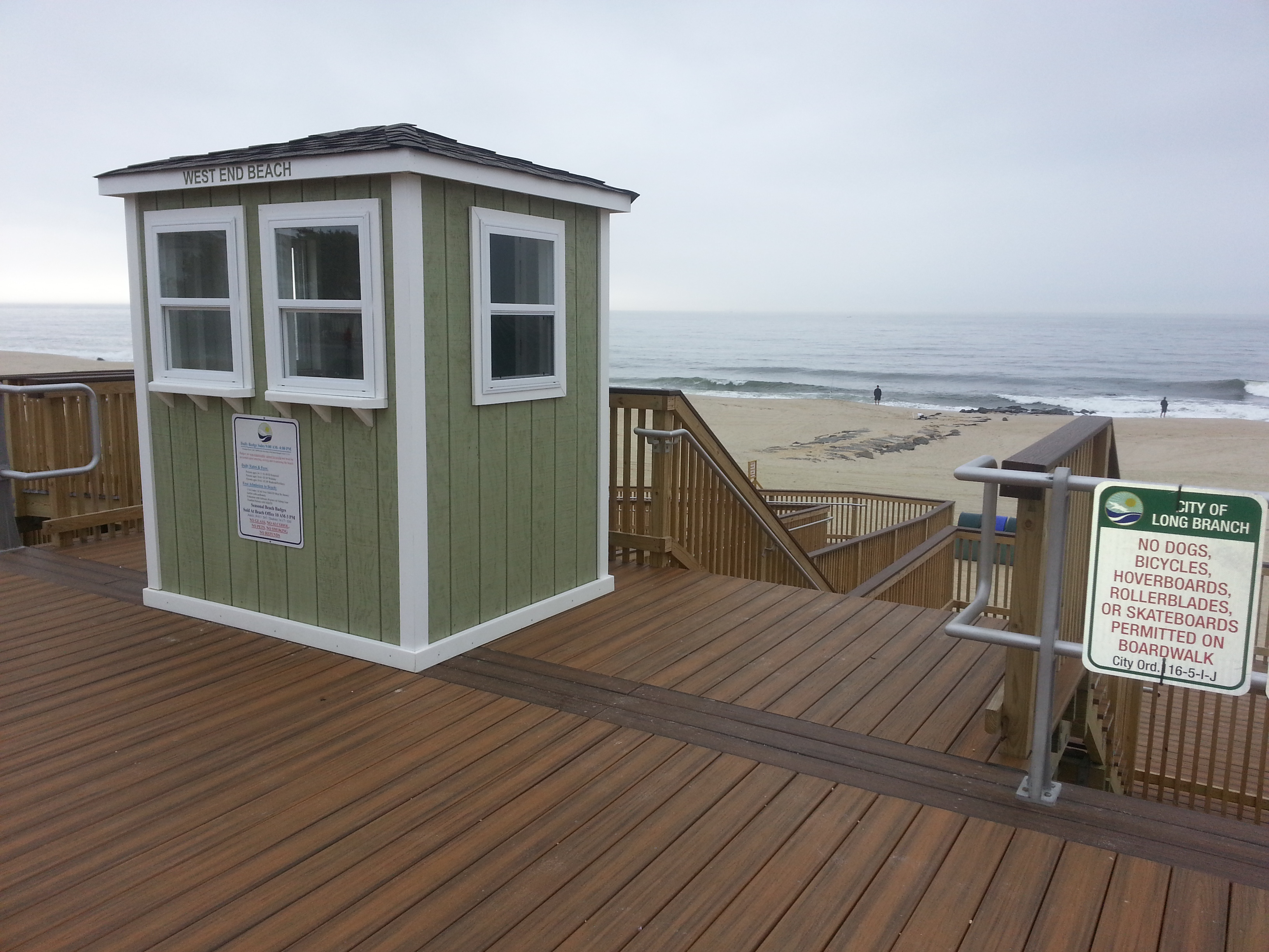Less than 1000 feet away is access to the Long Branch beach.