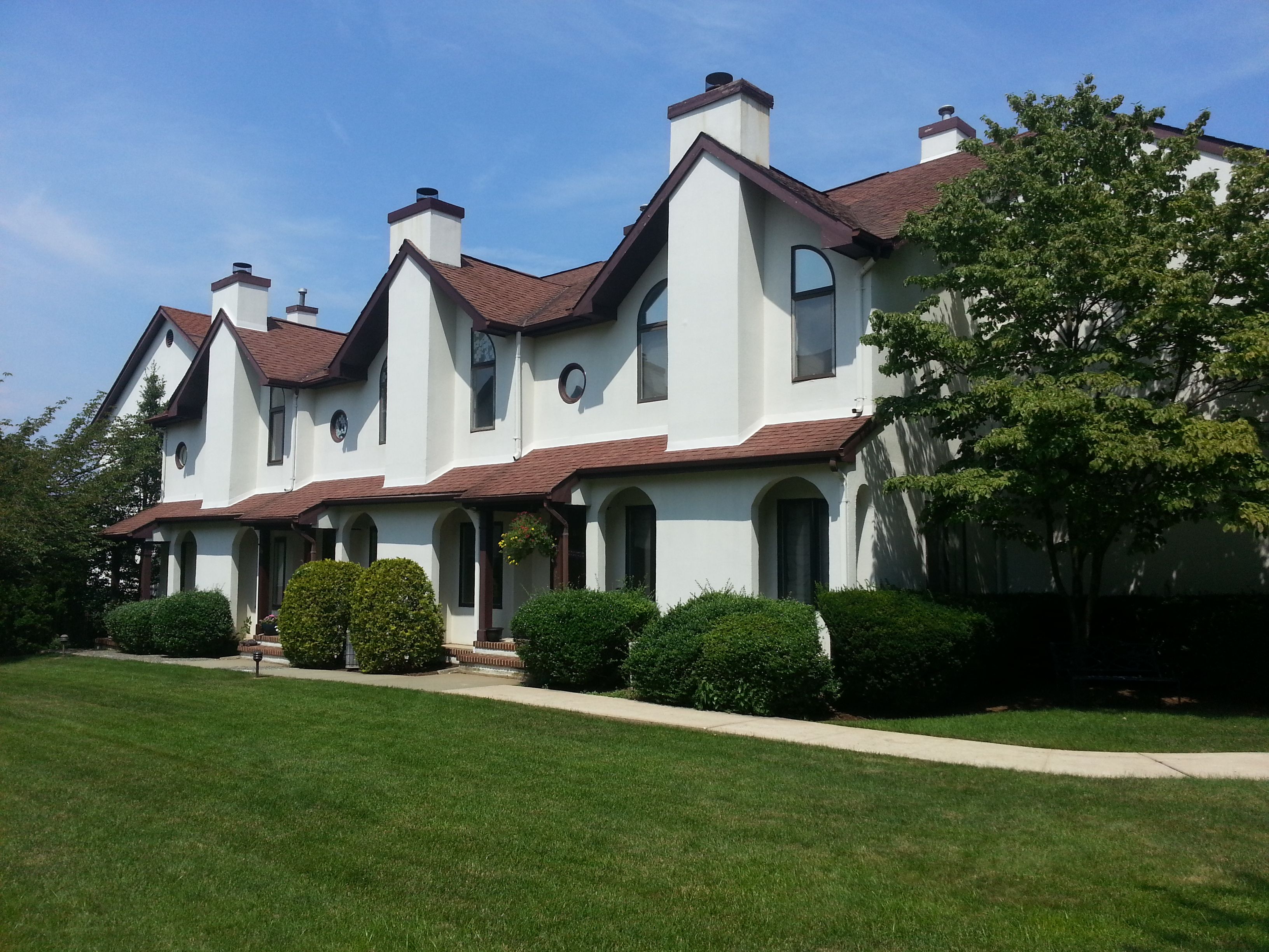 Tower Hill Condominium is located off of Prospect Avenue in Red Bank.