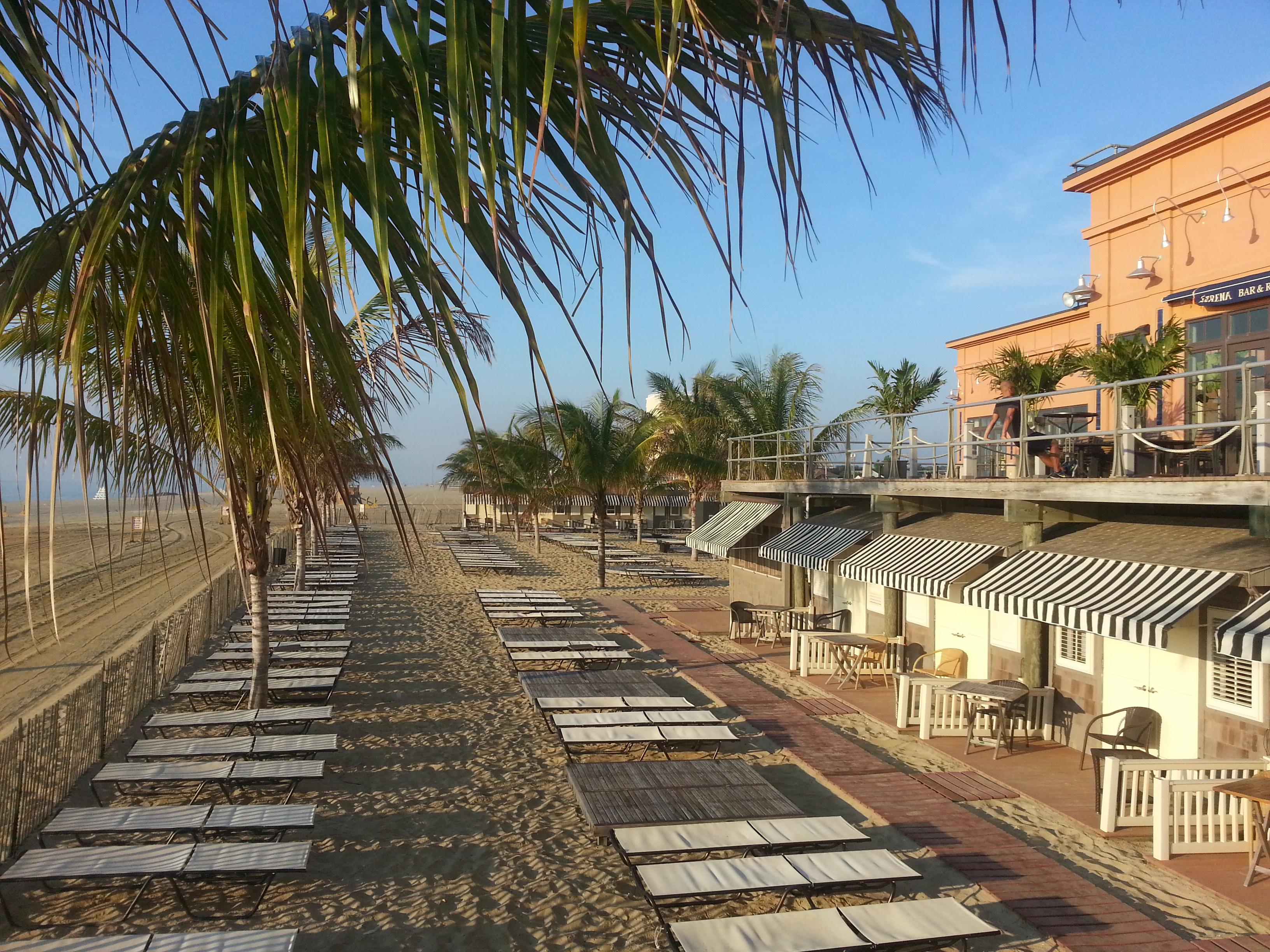 LeClub, the Pier Village beach club is a short walk away from 55 Melrose.