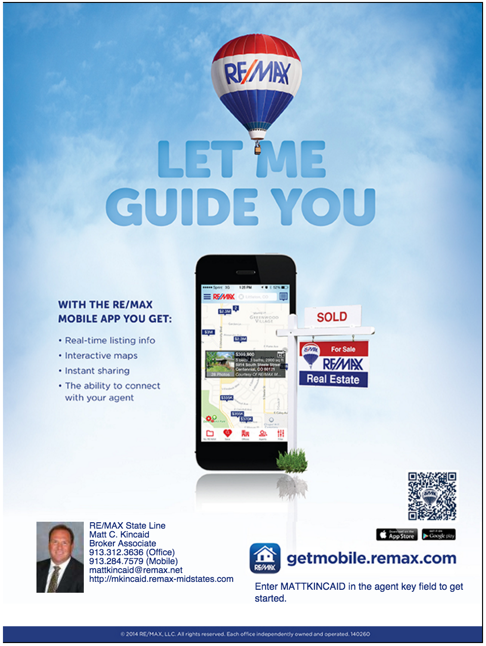 RE/MAX Mobile App - Matt Kincaid Real Estate