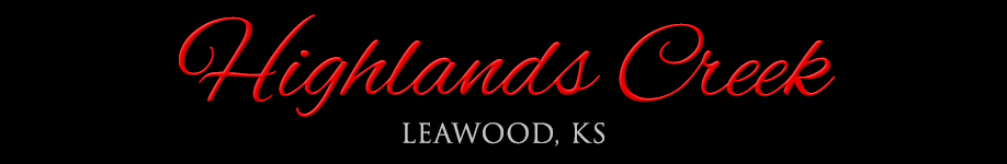 Highland Creek homes for sale in Leawood, KS
