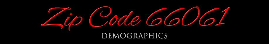 Zipcode 66061 Demographics