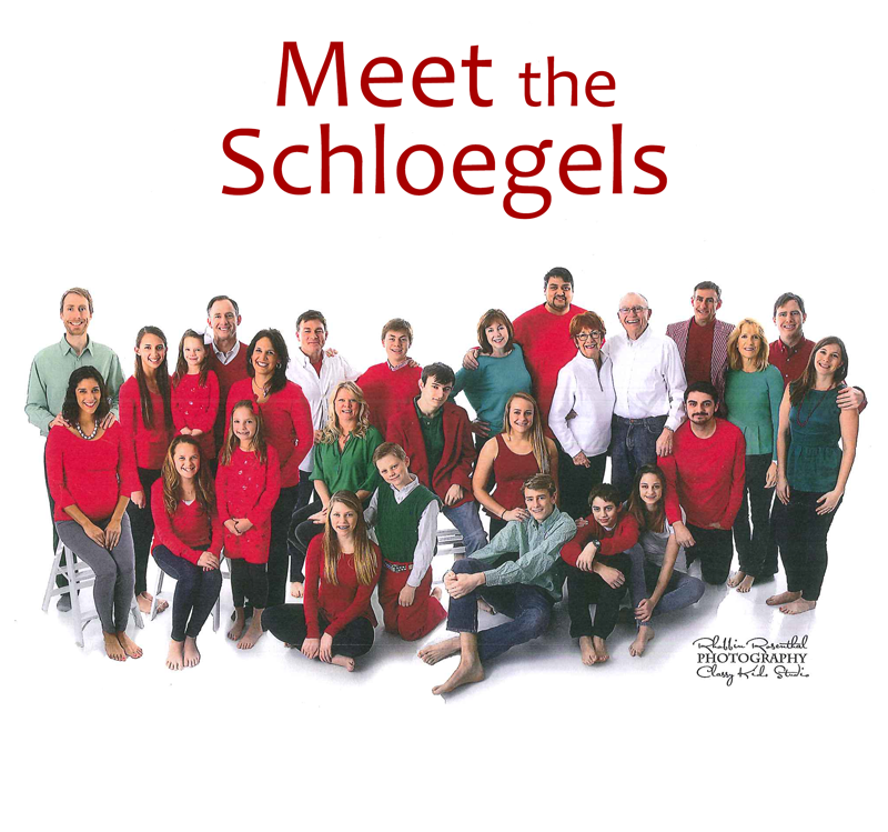 Joe Schloegel family photo - Meet the Schloegels