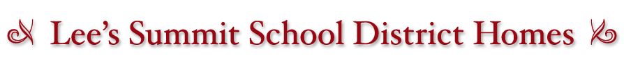 Lees Summit School District Homes