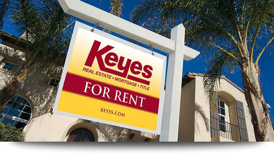 Keyes Rental Sign