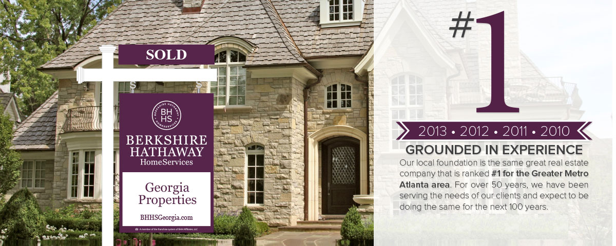 #1 Real Estate Company for the Greated Metro Atlanta Area