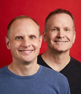 Mark and Evan McAdams-Templeton