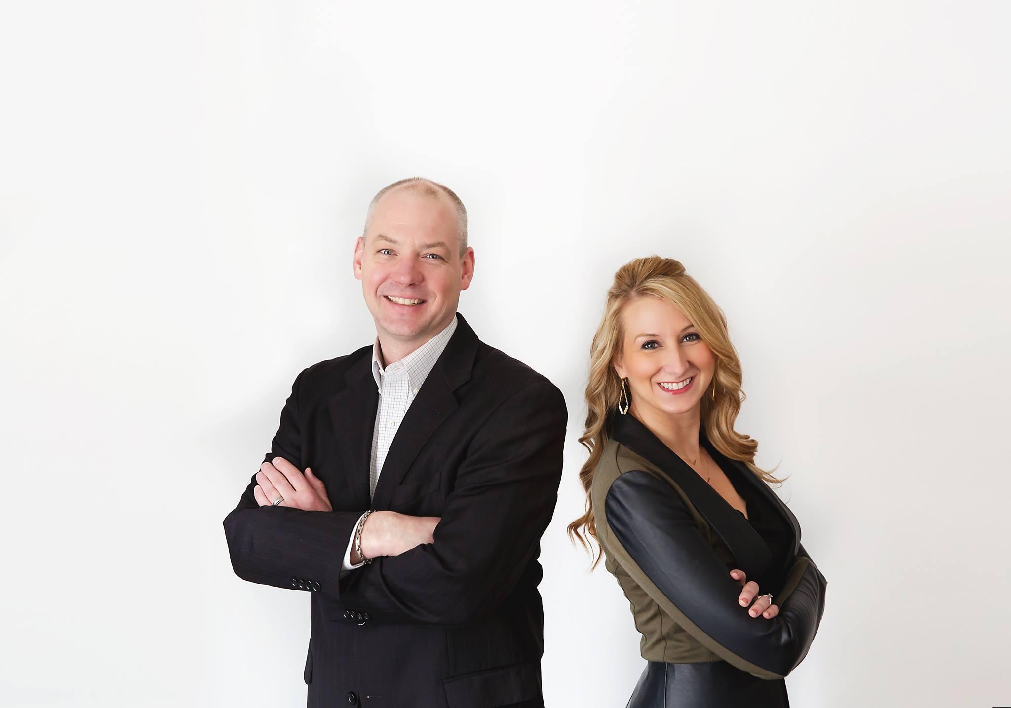 Mike Pelton and Noelle Leggitt