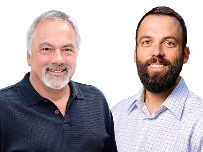 Mike and Mark McHugh