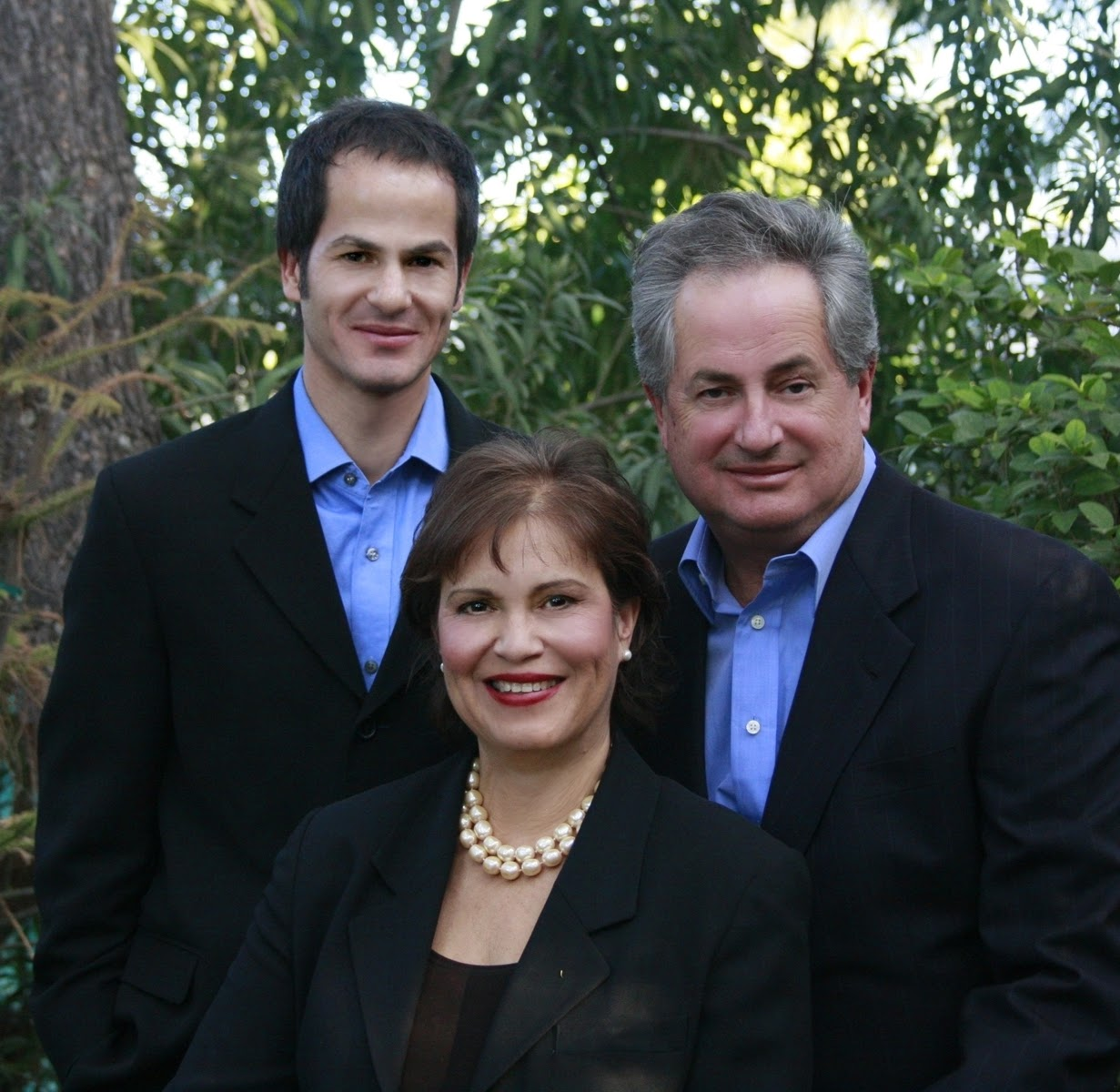 Rich, Gladys and Rich Jr. Kenney