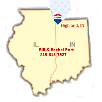 Highland Indiana, Map, Homes for Sale, Realtor