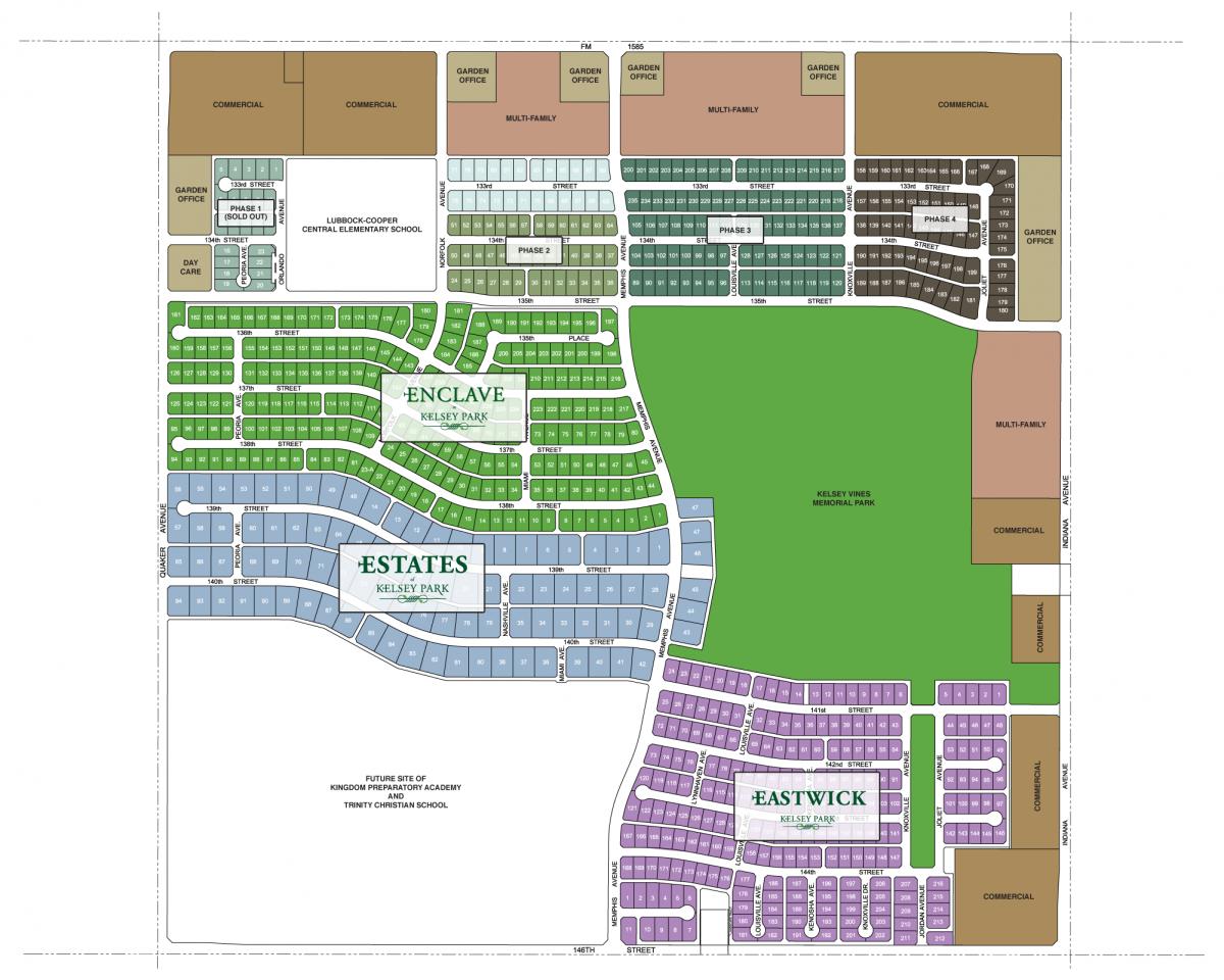 Kelsey Park Master Plan