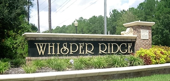 Whisper Ridge Entrance
