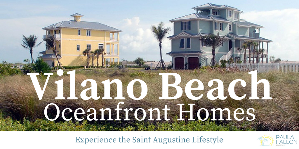 Vilano Beach Oceanfront Homes for Sale