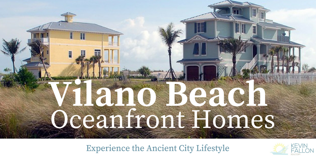 Discover The Darling Oceanfront Properties Of Vilano Beach Located On Eastern Side Barrier Island At Homes In This Area Are Literally Footsteps