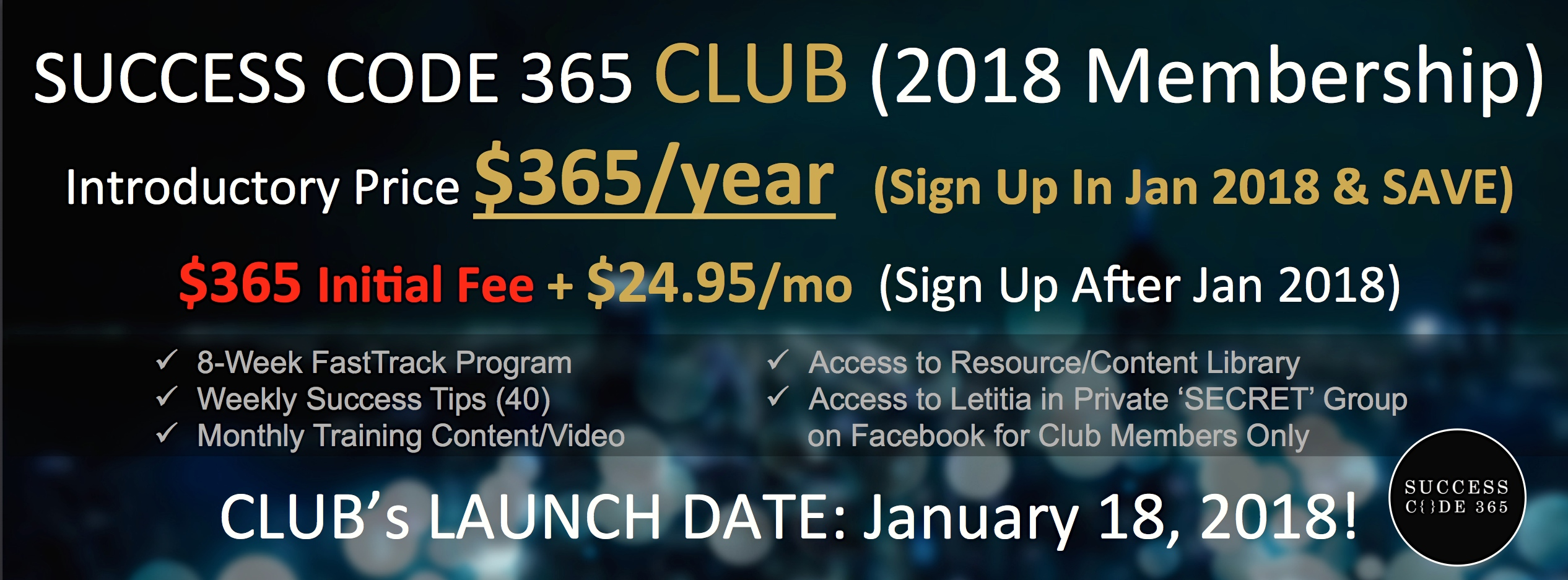 Success Code 365 CLUB